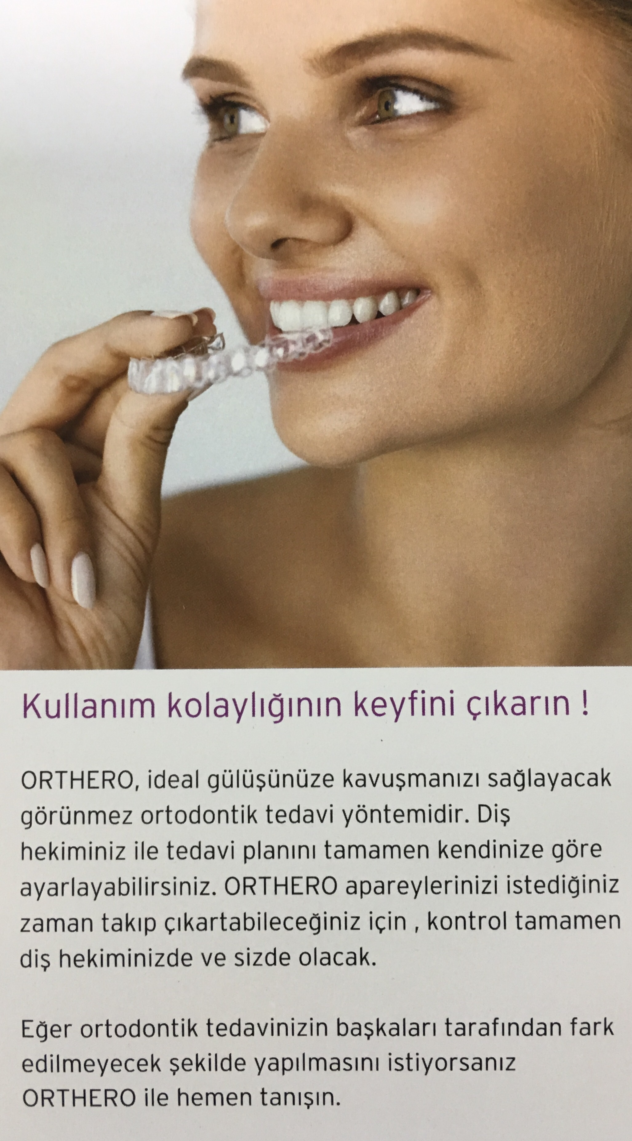 Ortodonti Tedavisi ve Şeffaf Aparey